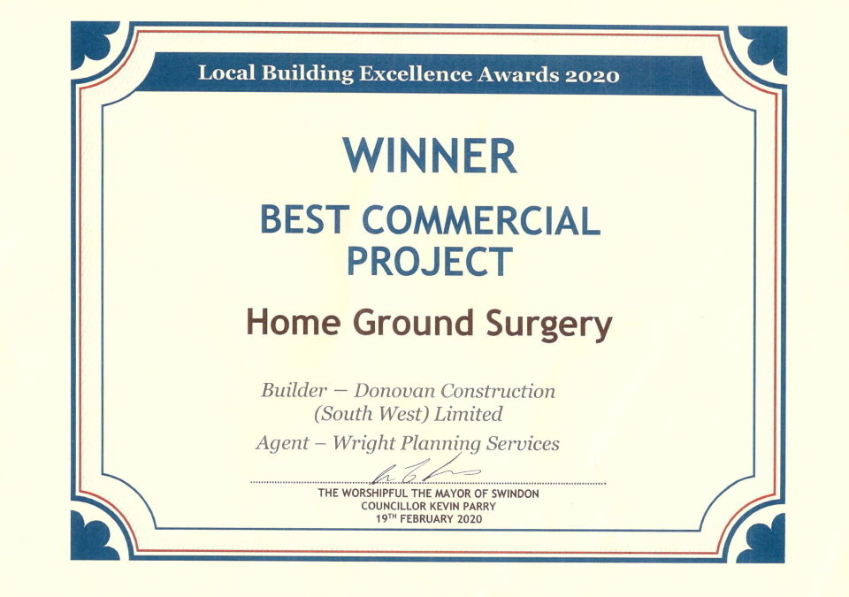 Local Building Excellence Awards 2020
